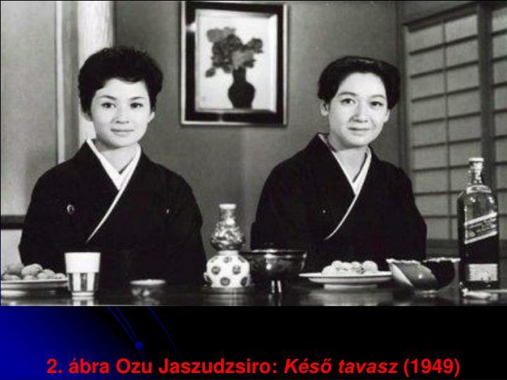2. ábra Ozu Jaszudzsiro: