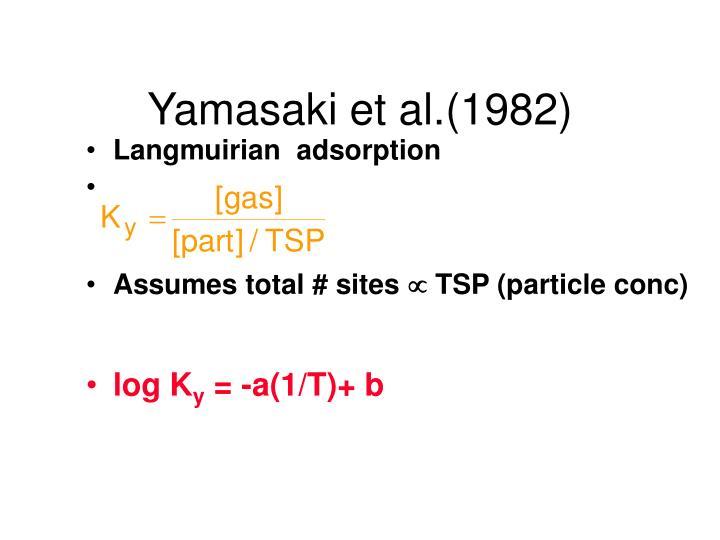 Yamasaki et al.(1982)