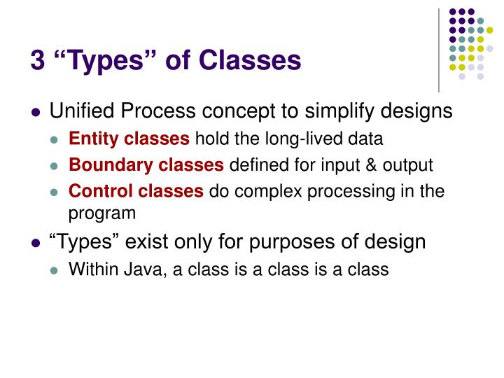 "3 ""Types"" of Classes"