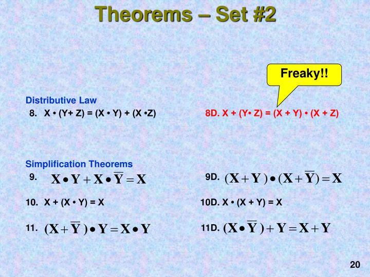 Theorems – Set #2