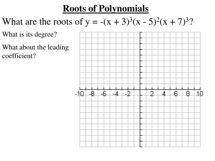 What are the roots of y = -(x + 3)