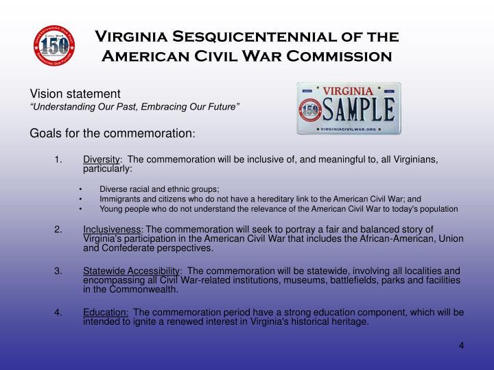 Virginia Sesquicentennial of the