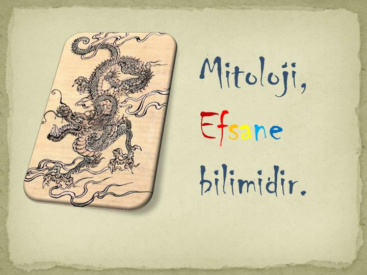 Mitoloji,