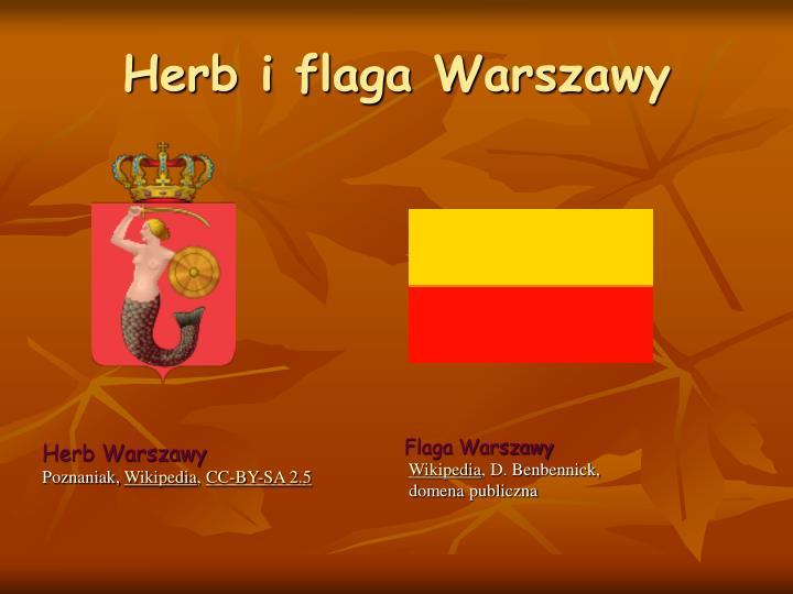 Herb i flaga Warszawy