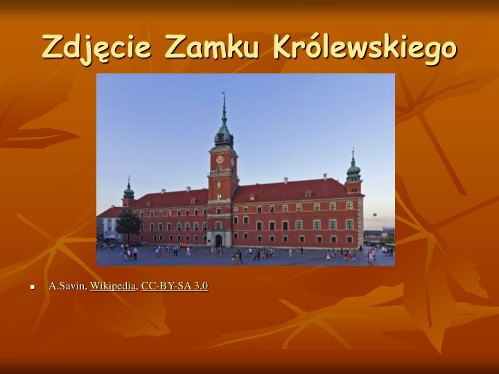 Zdjęcie Zamku Królewskiego