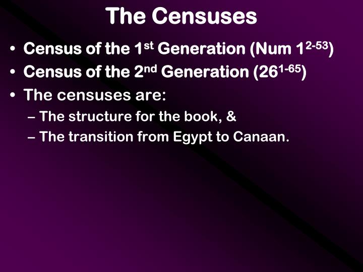 The Censuses
