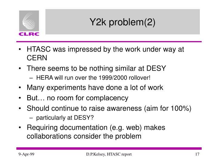 Y2k problem(2)