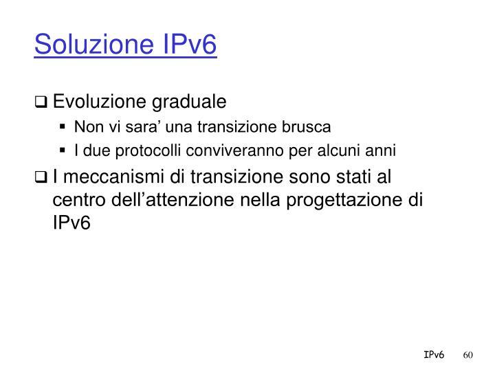 Soluzione IPv6
