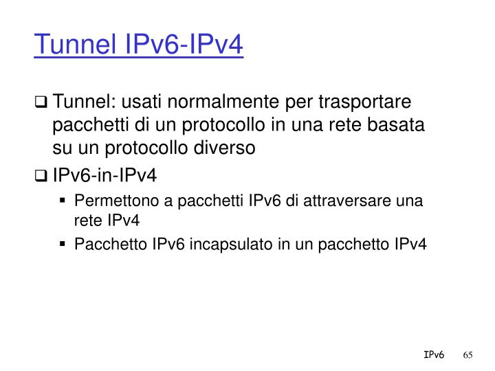 Tunnel IPv6-IPv4