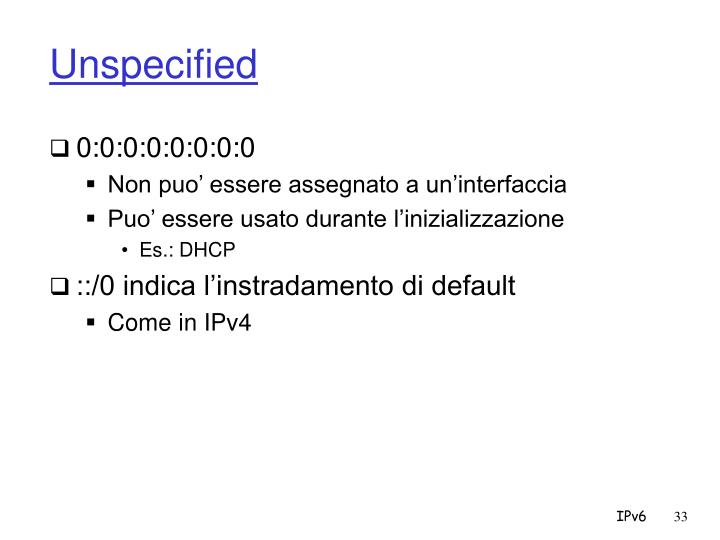 Unspecified