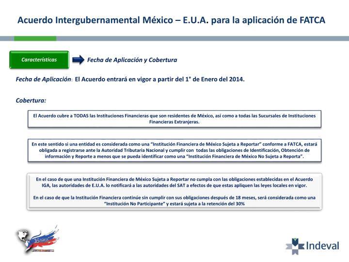 Acuerdo Intergubernamental México – E.U.A
