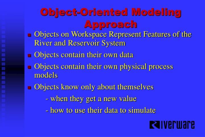 Object-Oriented Modeling Approach