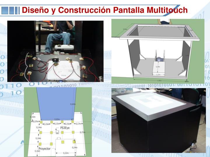 Diseño y Construcción Pantalla Multitouch