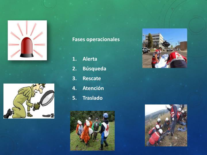 Fases operacionales