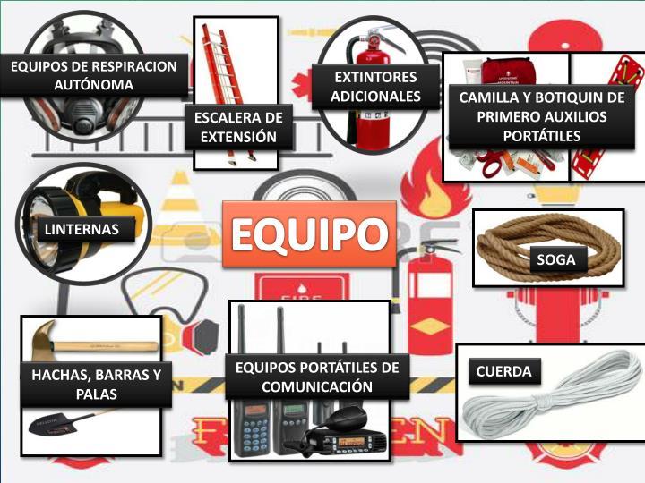 EQUIPOS DE RESPIRACION AUTÓNOMA