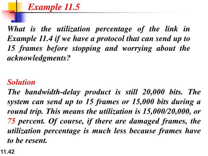 Example 11.5
