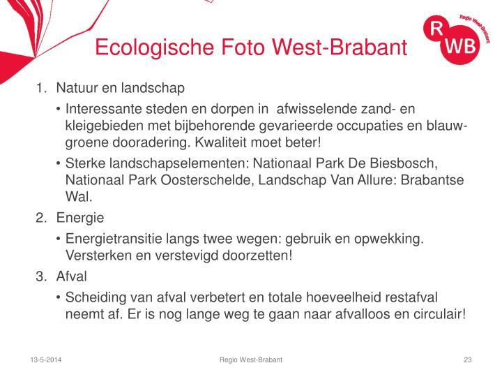Ecologische Foto West-Brabant
