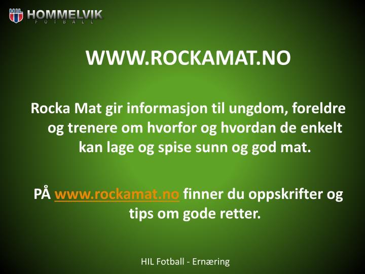 WWW.ROCKAMAT.NO