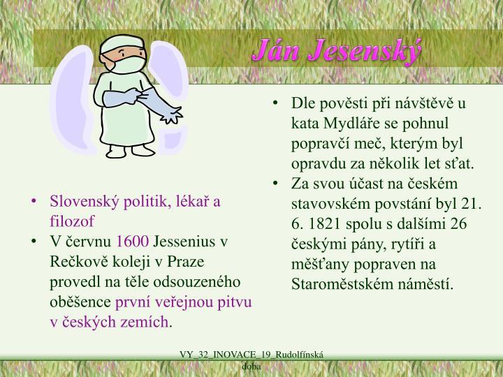 Ján Jesenský