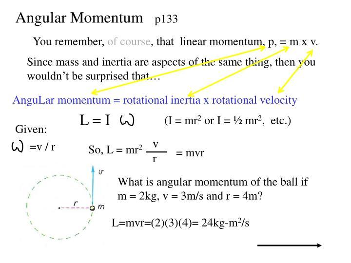 Angular Momentum