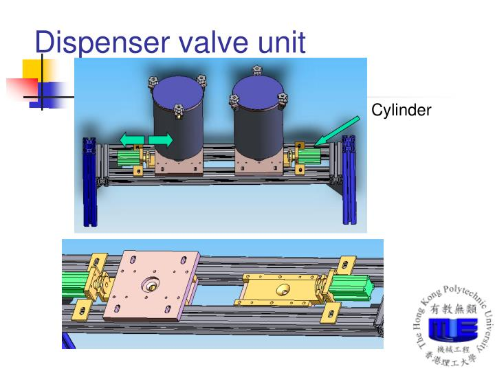 Dispenser valve unit