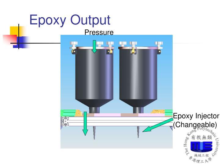 Epoxy Output
