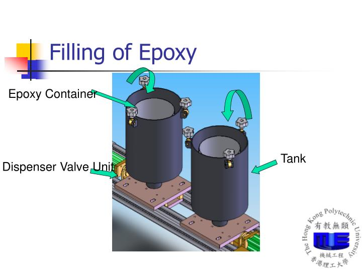 Filling of Epoxy