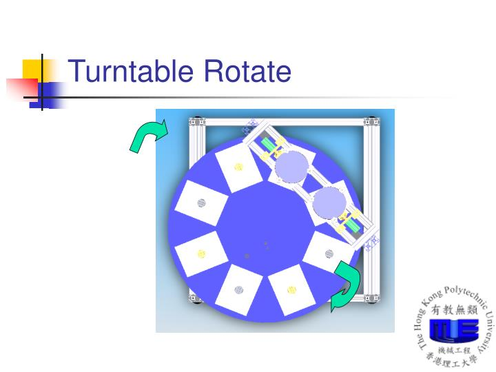 Turntable Rotate