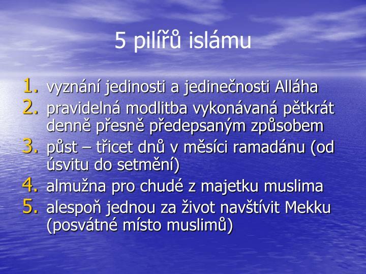 5 pilířů islámu
