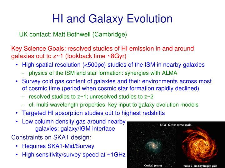 HI and Galaxy Evolution