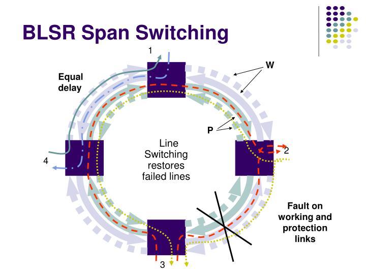 BLSR Span Switching