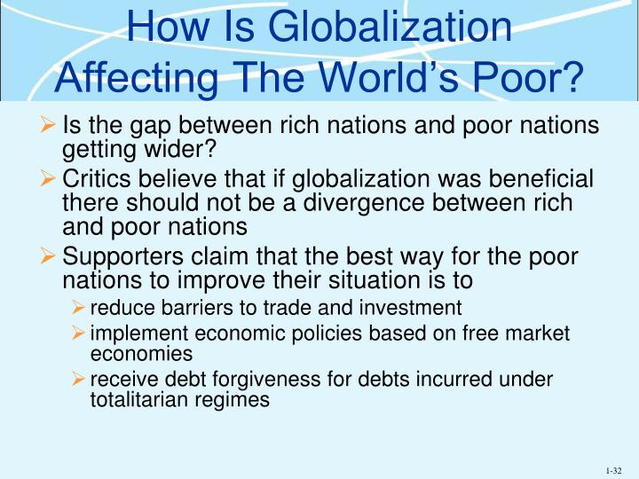 How Is Globalization