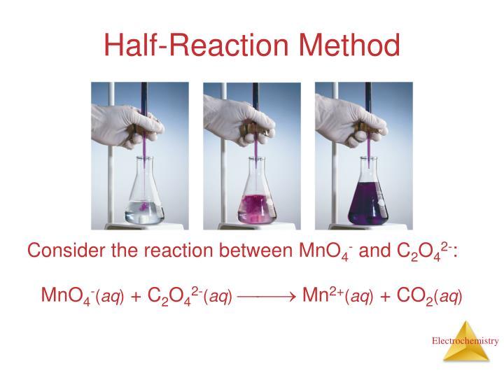 Half-Reaction Method
