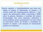 criminolog a1