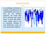 sociolog a