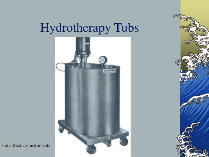 Hydrotherapy Tubs