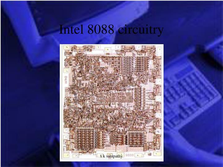 Intel 8088 circuitry