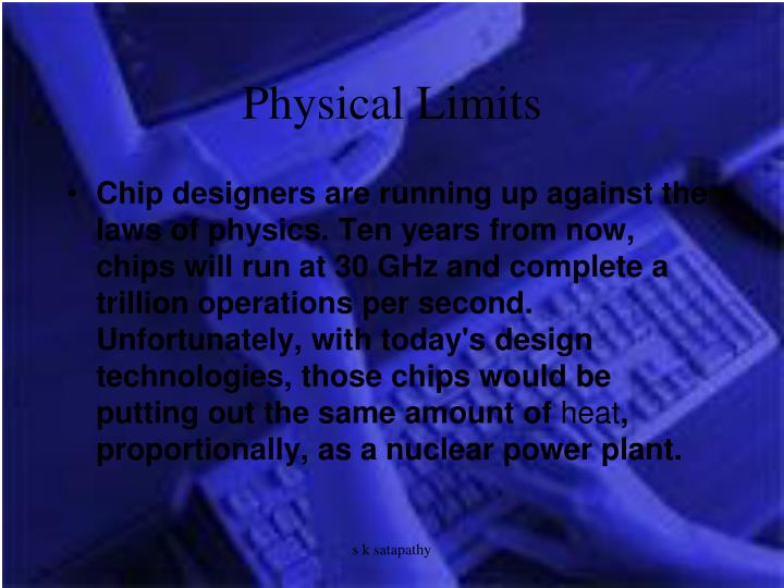 Physical Limits