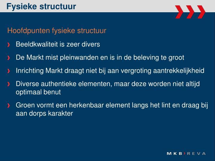 Fysieke structuur