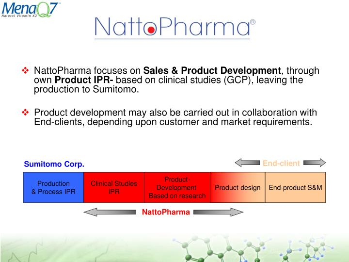 NattoPharma focuses on