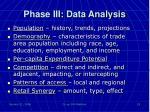 phase iii data analysis