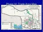 phase iv trade area map