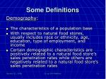 some definitions3