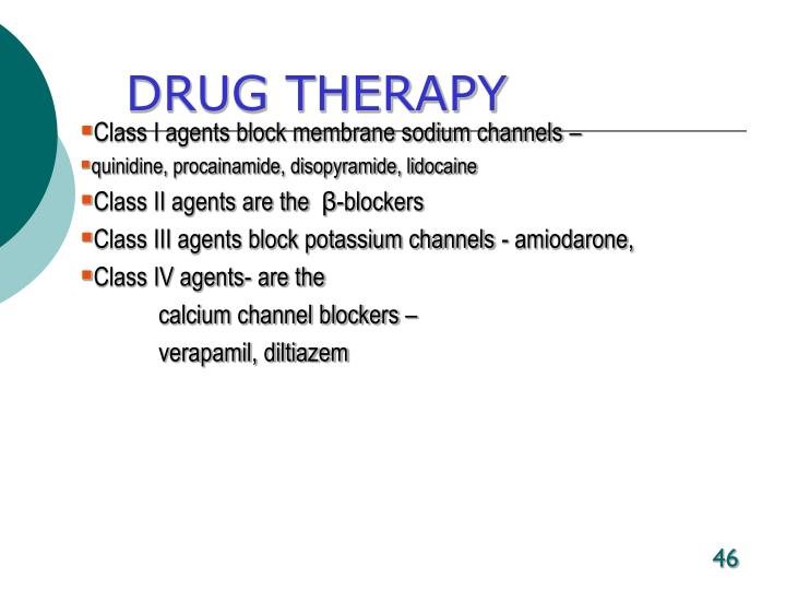 DRUG THERAPY