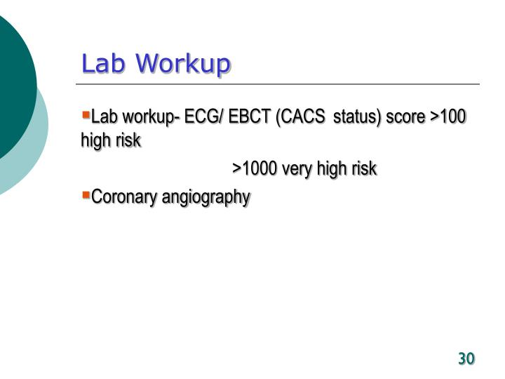 Lab Workup