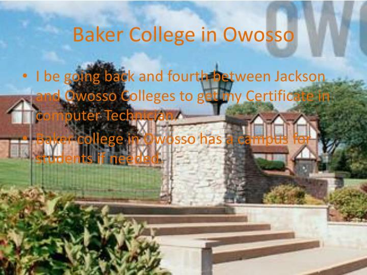 Baker College in Owosso