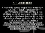 4 1 legalidade