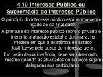 4 10 interesse p blico ou supremacia do interesse p blico