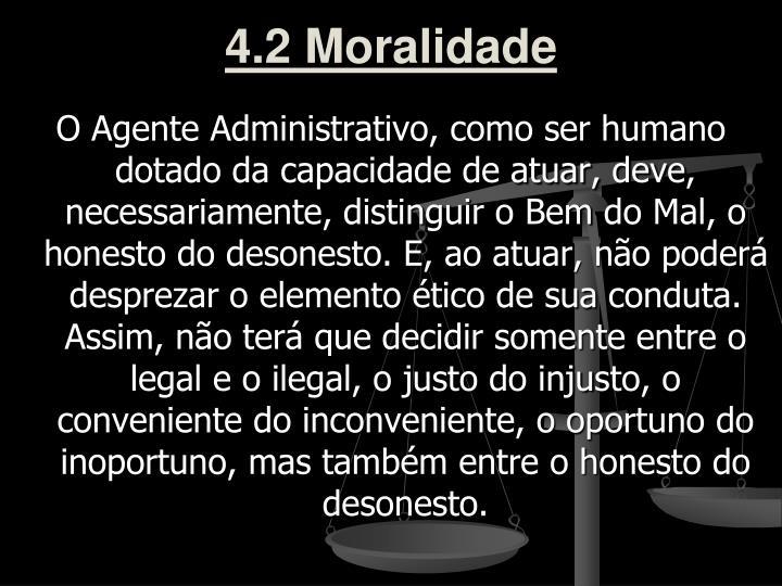 4.2 Moralidade