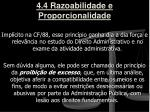 4 4 razoabilidade e proporcionalidade